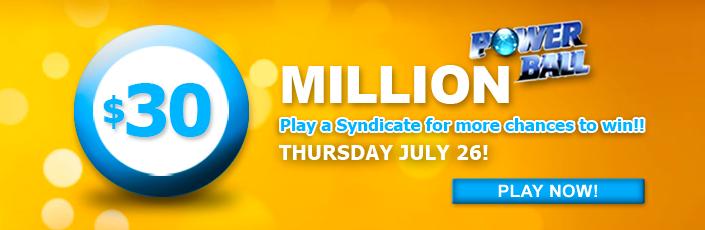 Powerball 30 Million Jackpot