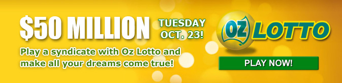 Oz Lotto $50 Million
