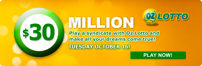 30 Million Oz Lotto Jackpot